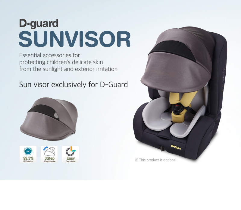 Sun visor exclusively for D-Guard