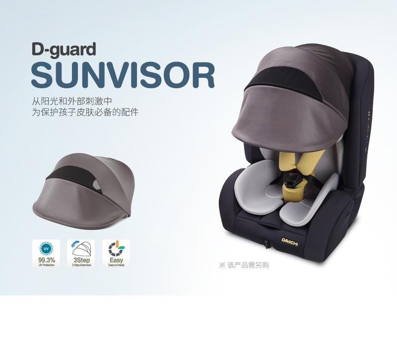 从阳光和外部刺激中, 为保护孩子皮肤必备的配件.D-Guard专用遮阳棚