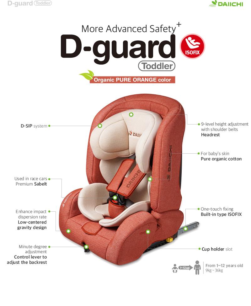 DAIICHI D-Guard Toddler car seat