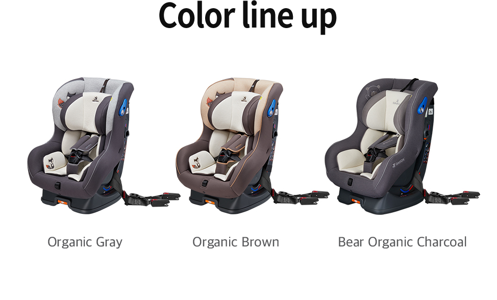 DAIICHI DAIICHI Dualwell S carseat carseat Color line up