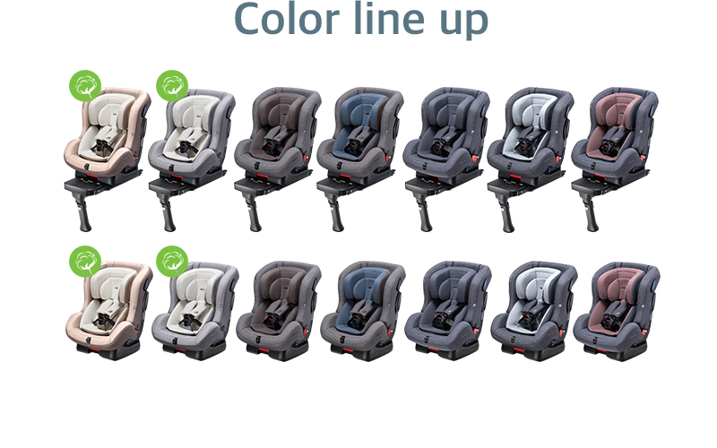 Color line up. DAIICHI 2018 First seven plus (First7+) Touch-FIX