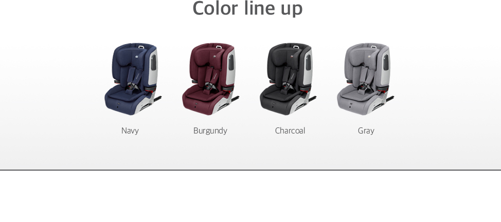 Color Line up: Navy, Burgundy, Charcoal, Gray